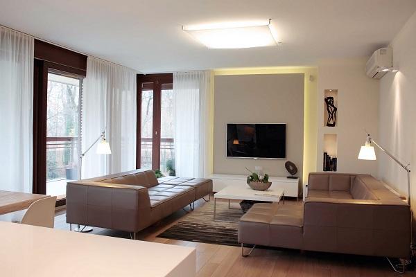 projekt architektoniczny apartamentu we Wrocławiu - projektowanie wnętrz Prima Wrocław